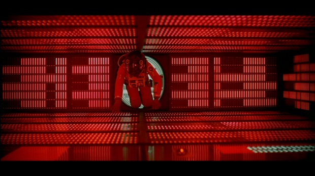 2001 A SPACE ODYSSEY BOWMAN ENTERS HAL