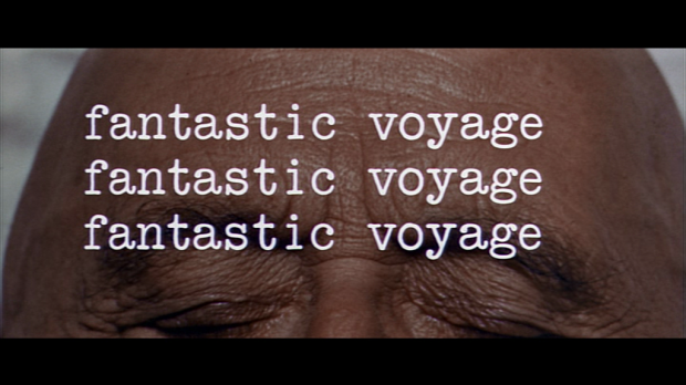 FANTASTIC VOYAGE FOREHEAD TITLE