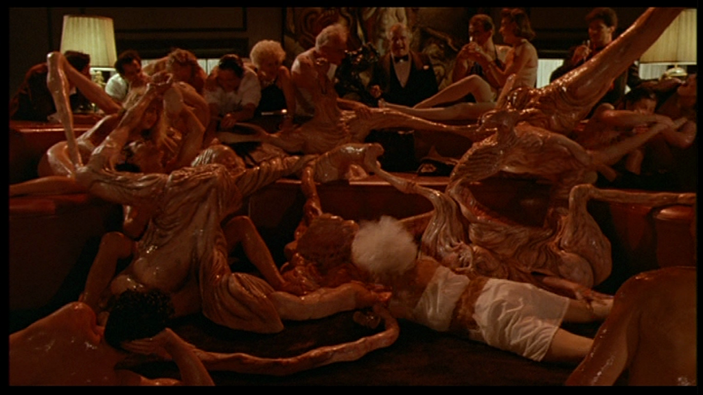 Flesh gordon orgy scene apologise